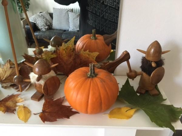 Nienke autumn display
